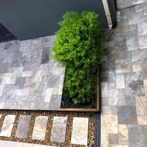 Nordic Silver Travertine Tumbled for Pool-Paving