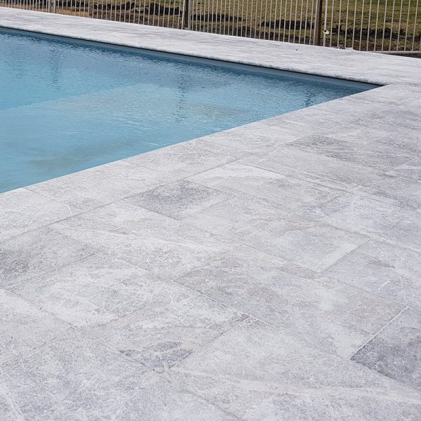 Tundra Grey Bullnose For Pool Coping